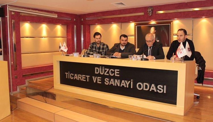DÜZCE TSO MECLİS TOPLANTISI GERÇEKLEŞTİRİLDİ