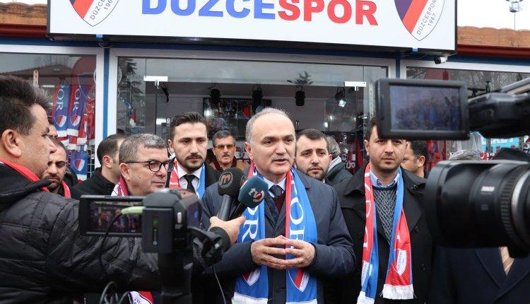 ÖZLÜ; DÜZCESPOR A.Ş. KURULACAK !
