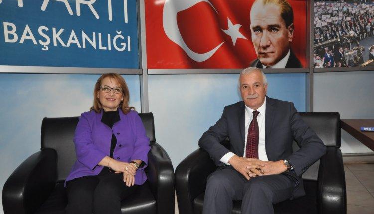 İYİ PARTİ GENEL BAŞKAN YARDIMCISI DÜZCE'DEYDİ