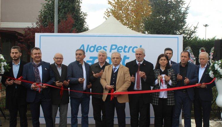 ALDES PETROL HİZMETE AÇILDI