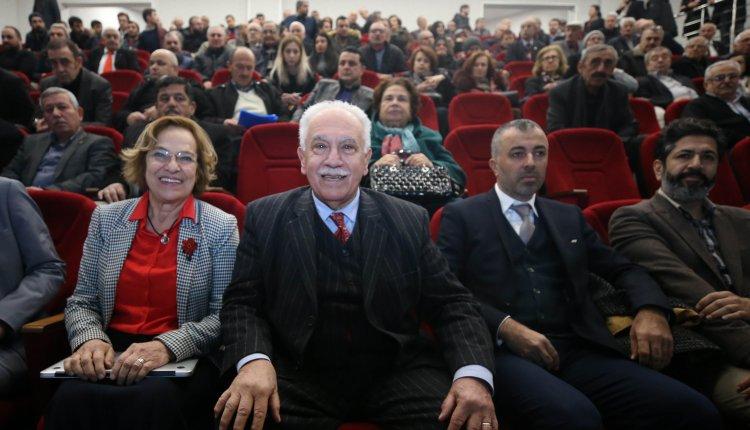 VATAN PARTİSİ GENEL BAŞKANI DOĞU PERİNÇEK DÜZCE'DE