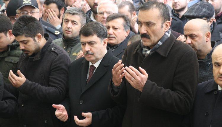 ANKARA VALİSİ ŞAHİN, DÜZCE'DE CENAZEYE KATILDI