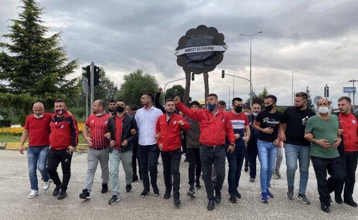 TFF'Yİ PROTESTO İÇİN İSTANBUL'A YÜRÜYORLAR!