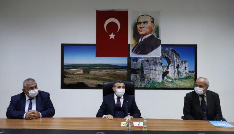 VALİ ATAY'DAN MUHTARLARA ZİYARET !